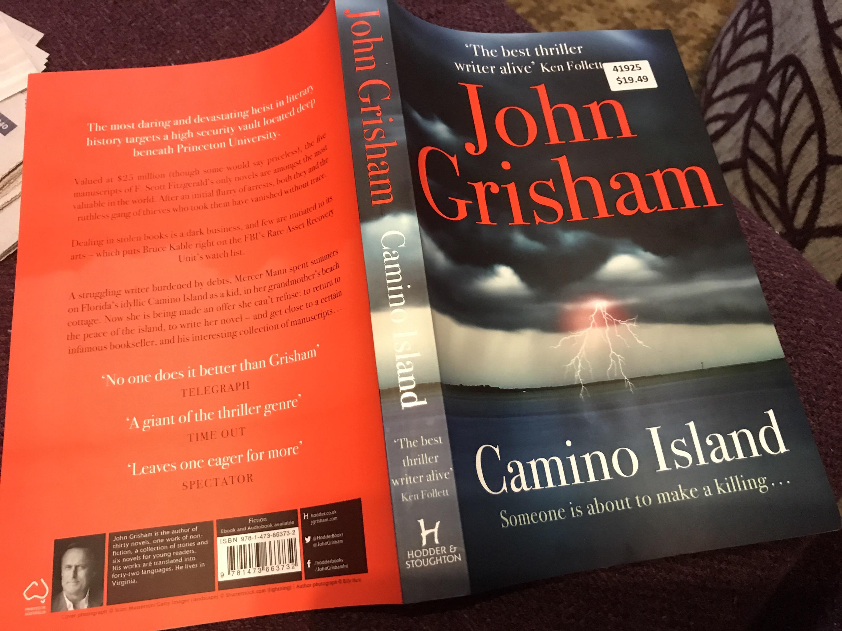 holiday reading camino island mgpcpastor s blog